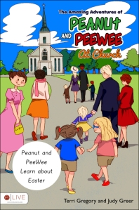 peanut and peewee easter book cover